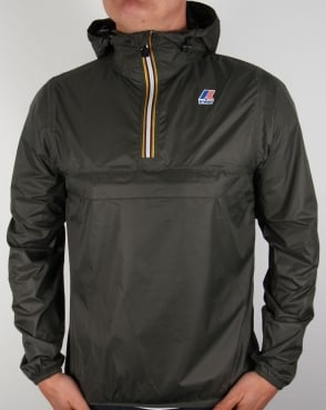 K-way Le Vrai 3.0 Leon Rainproof Jacket Torba Green