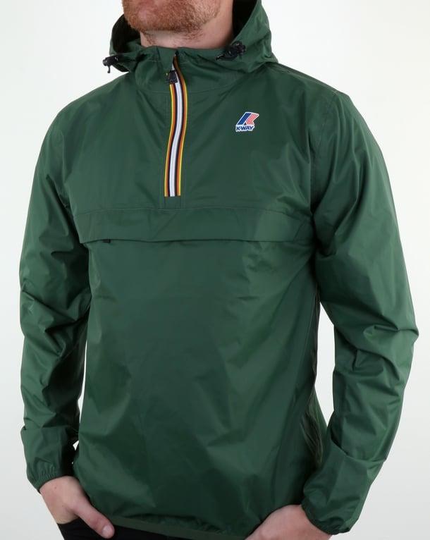 K-way Leon 3.0 Jacket Dark Green