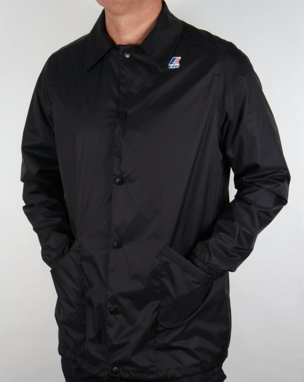 K-way Raoul Jacket Black