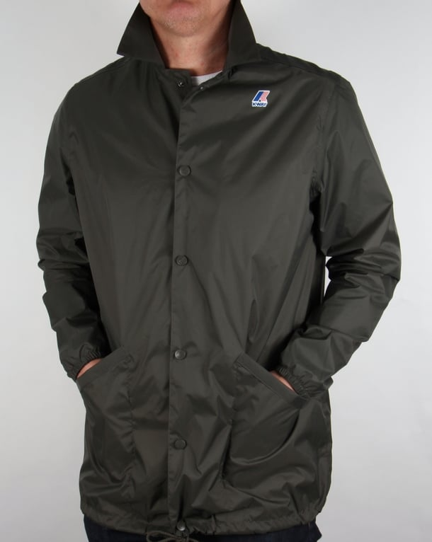 K-Way Raoul Jacket Torba Green