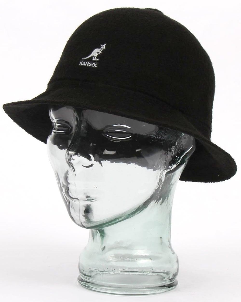 Kangol Kangol Bermuda Casual Hat Black 47384fdd9bf9