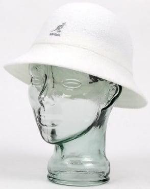 Kangol Bermuda Casual Hat White