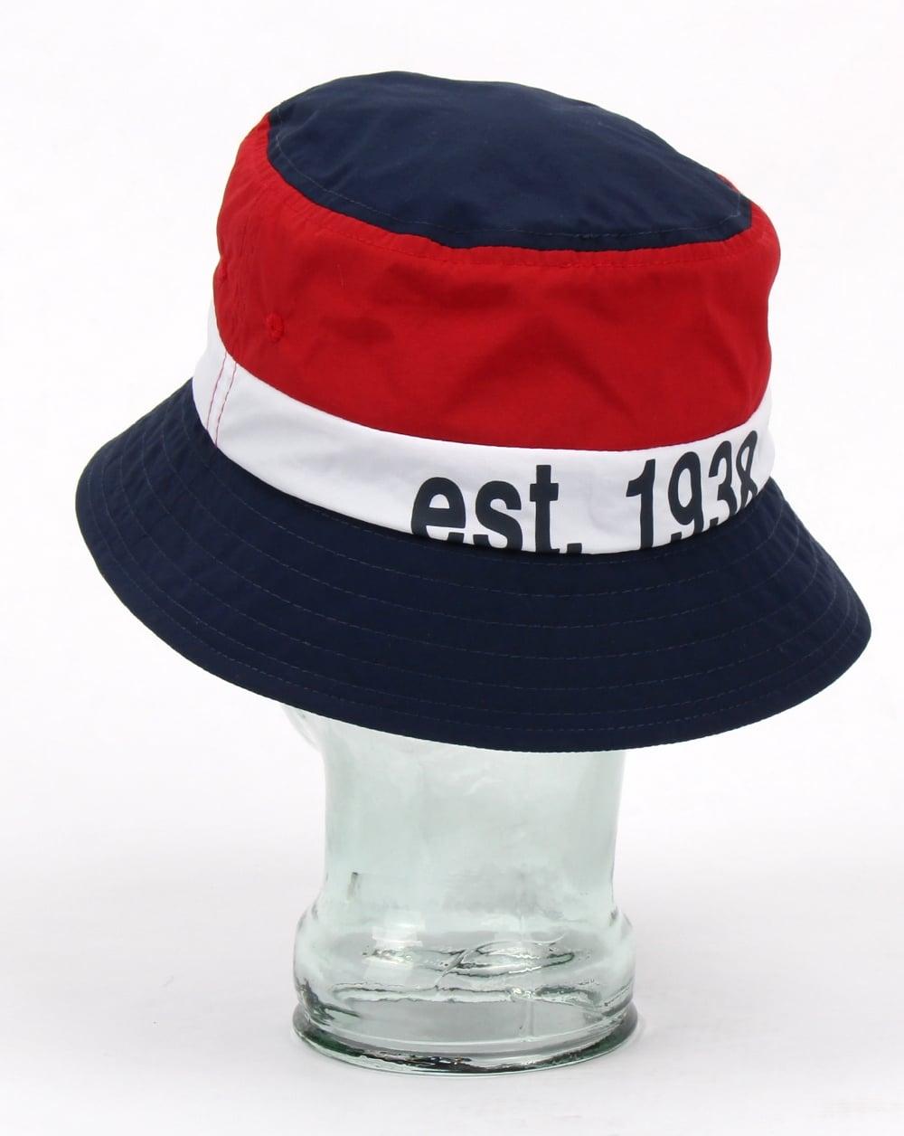 Kangol Bold Stripe Bucket Hat Navy 70b71d784fab
