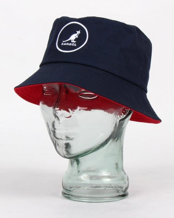 Kangol Cotton Bucket Hat Navy