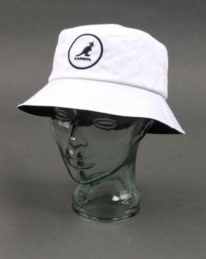c3678d0a6d3 Kangol Cotton Bucket Hat White