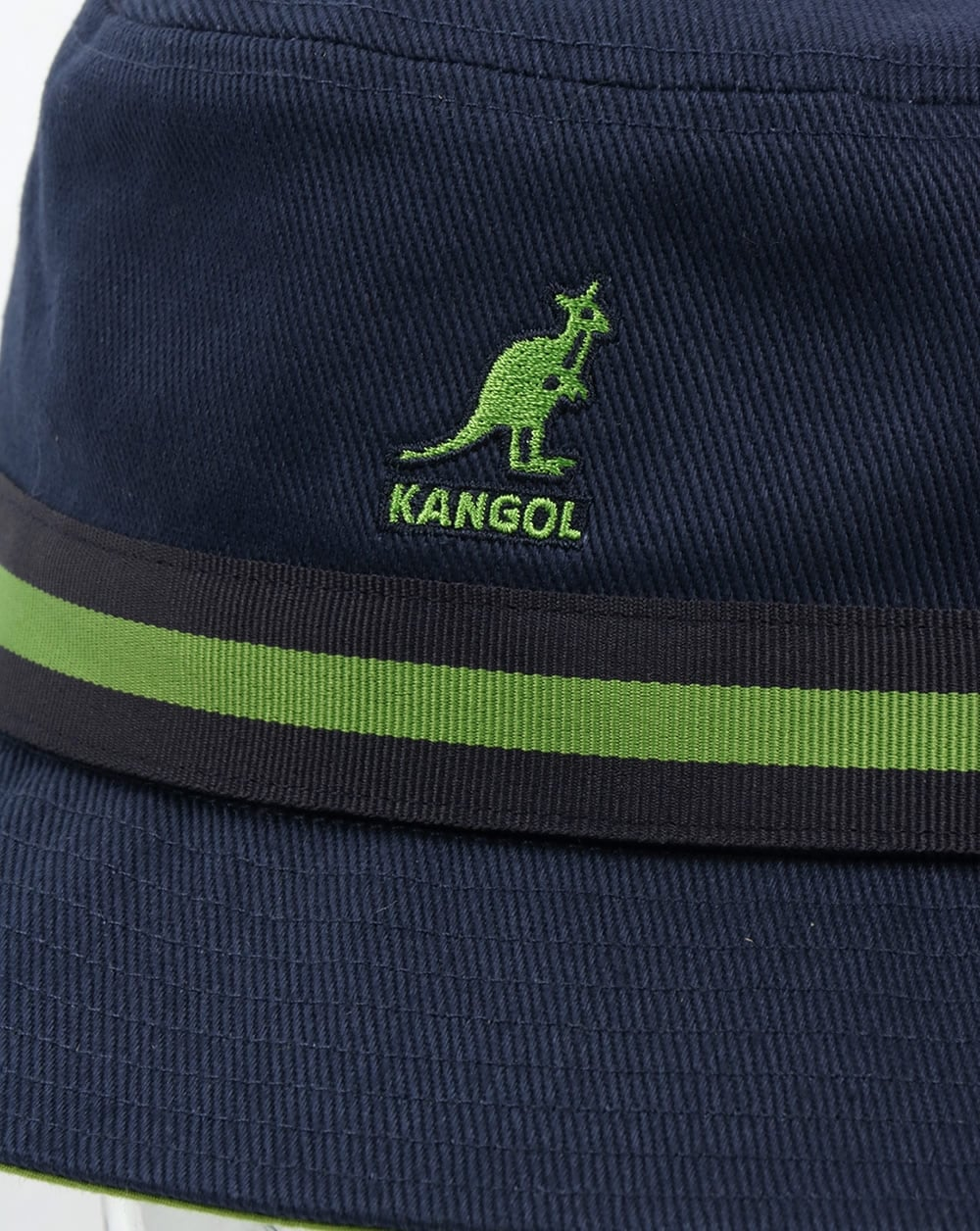 Kangol Stripe Lahinch Bucket Hat Navy 782dec574511