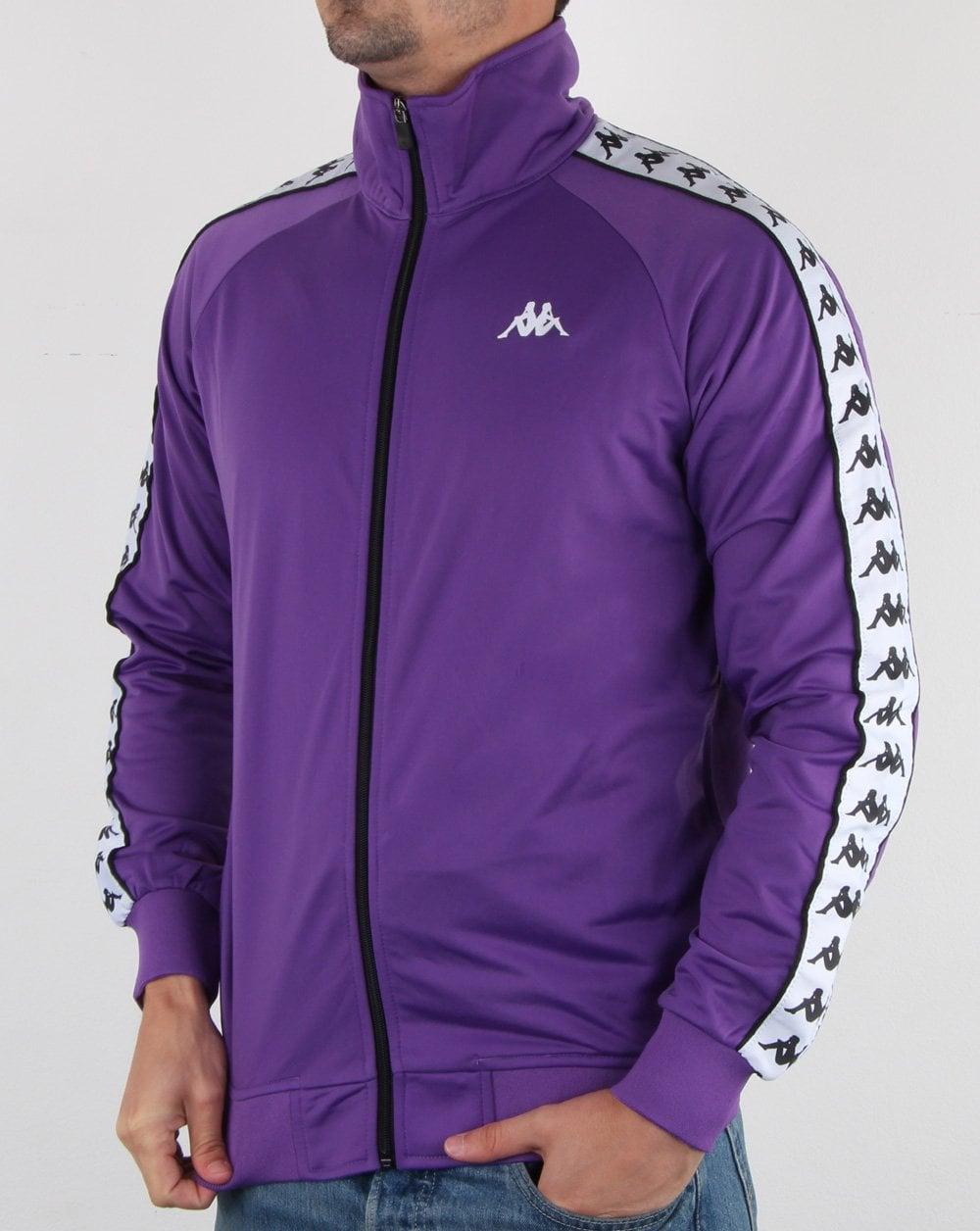 e242b052 Kappa Anniston Banda Jacket Violet/white