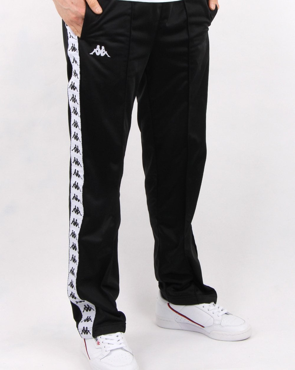 7169ce45af Kappa Astoria Track Pants Black/white