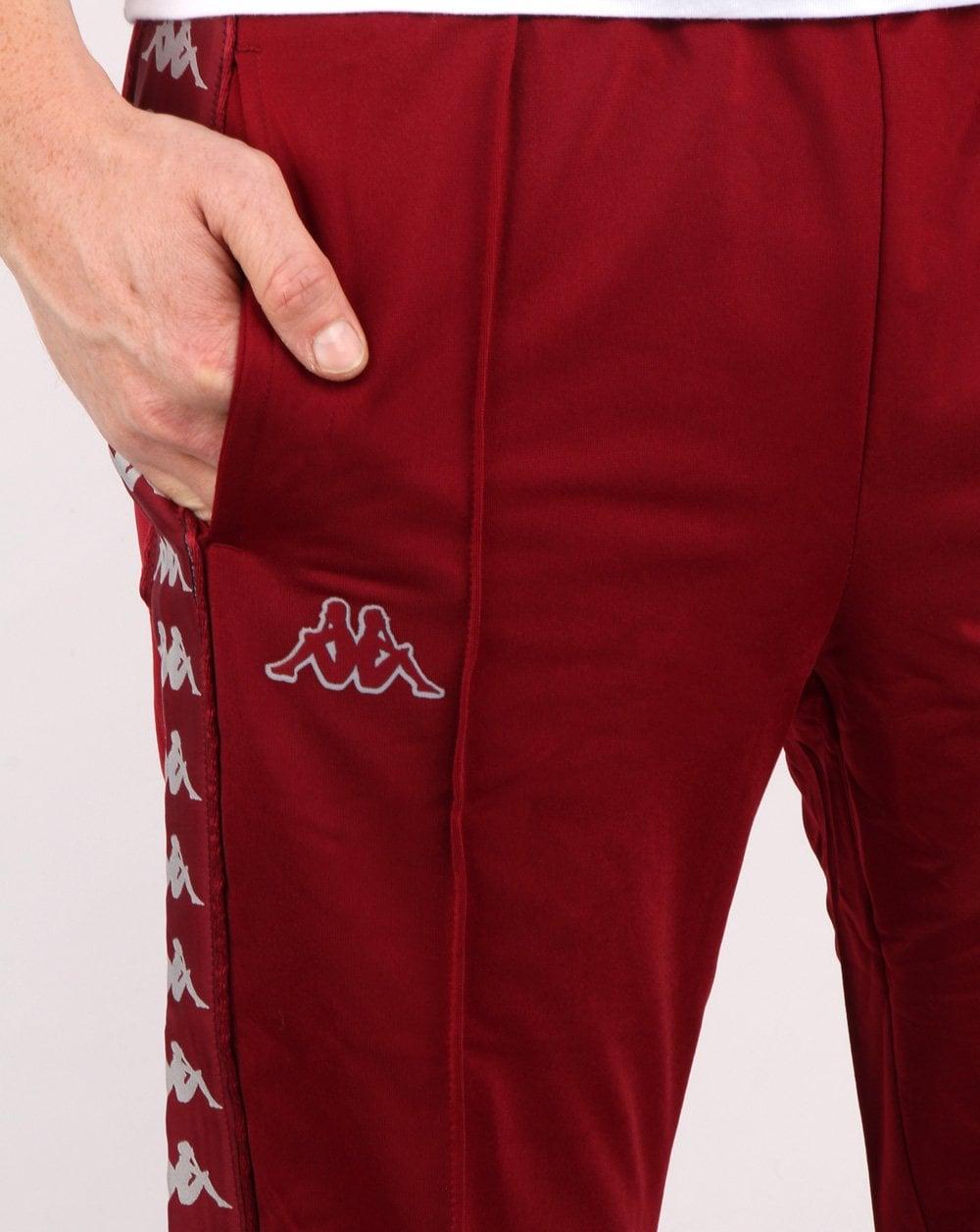 a7977f9a6763 Kappa Banda Astoria Slim Pant Burgundy