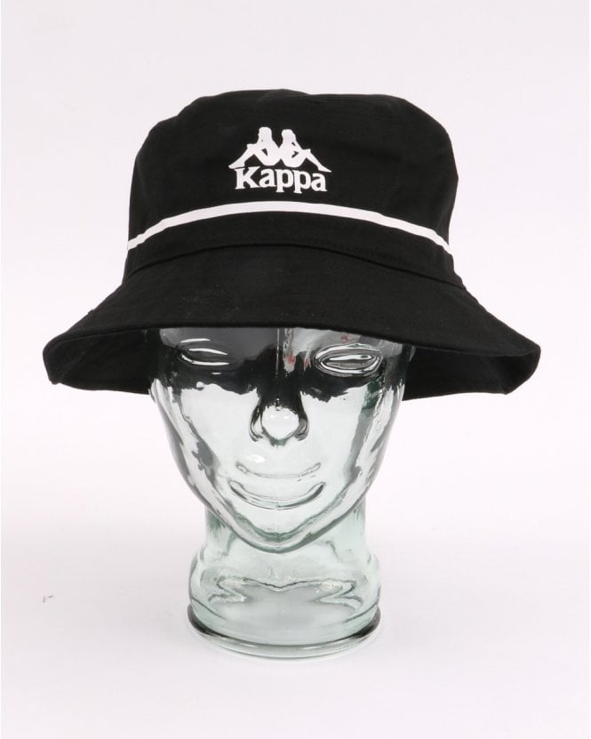 4ba5853e257 Kappa Kappa Bucket Hat Black