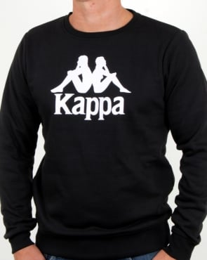 Kappa Eslogari Sweatshirt Black