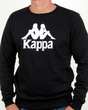 Kappa Eslogari Sweatshirt Black
