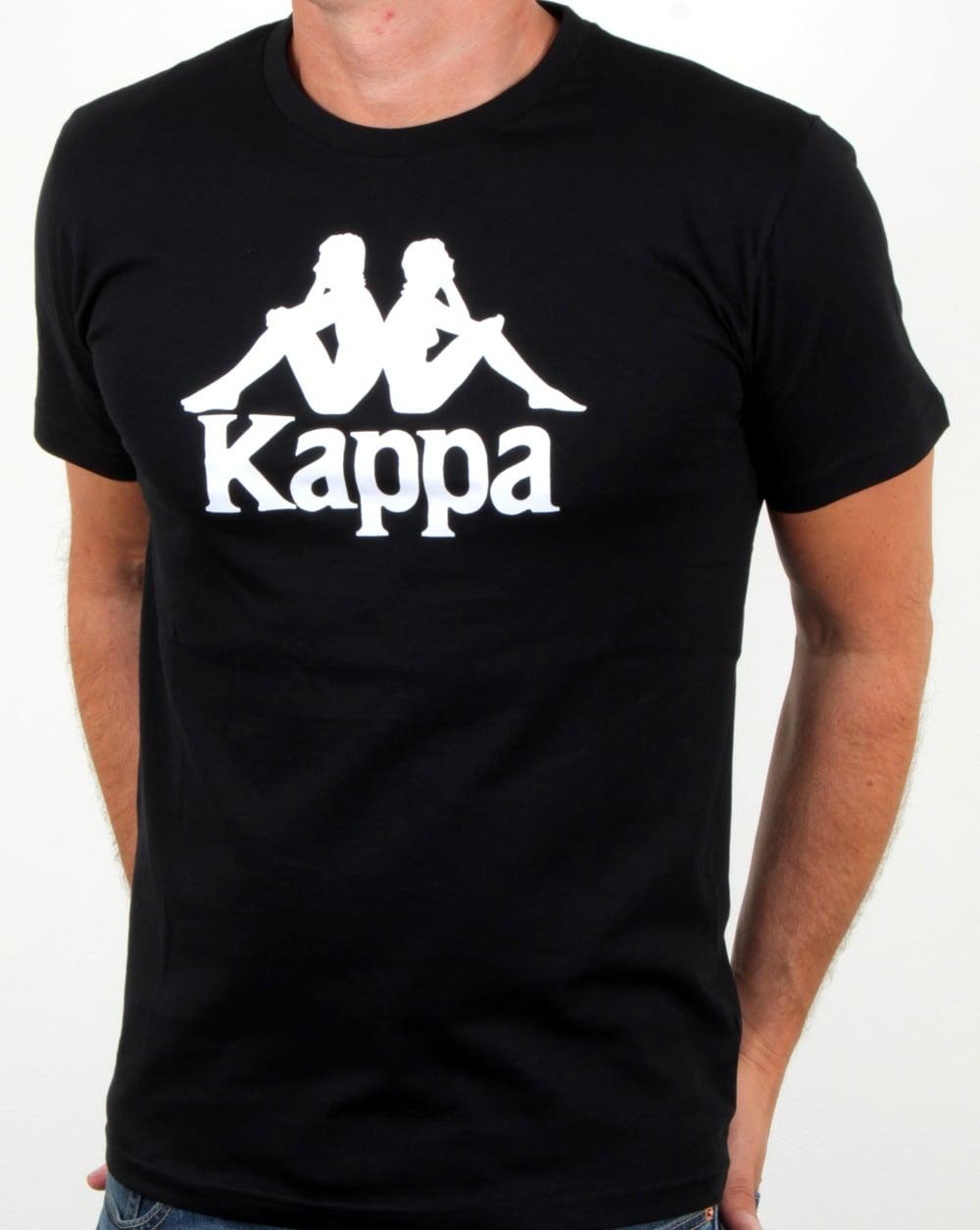 facfdb4470 Kappa Estessi Large Logo T Shirt Black