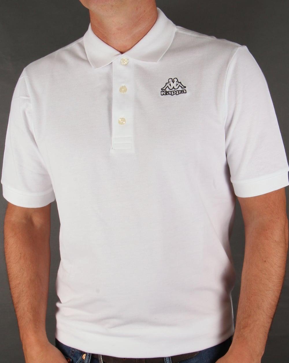 e2a2e7e2b8db Kappa Kappa Omini Polo Shirt White