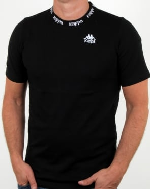 Kappa Reim T Shirt Black