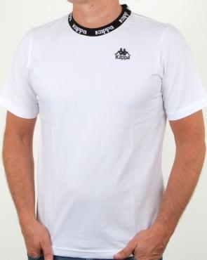 Kappa Reim T Shirt White