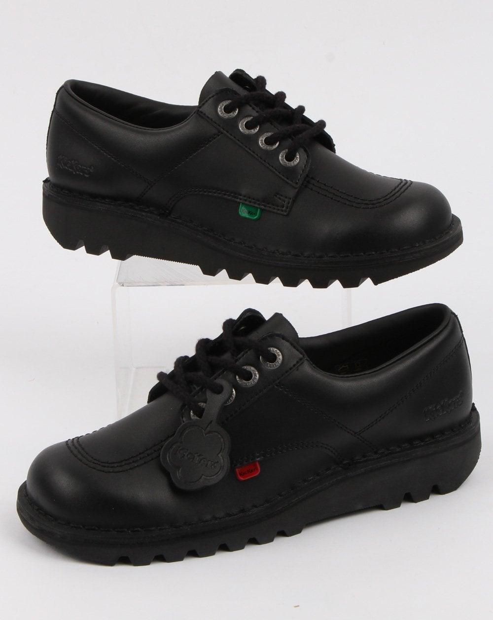b63bf87706 Kickers Kick Lo Shoes Black | 80s casual classics