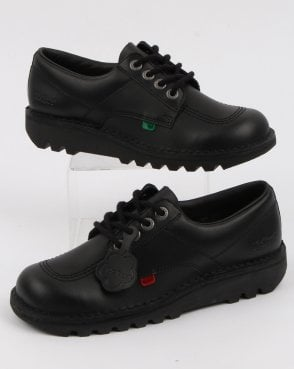 Kickers Kick Lo Shoes Black