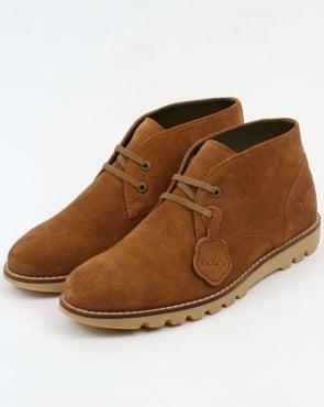 Kickers Kymbo Chukka Suede Boots Sand