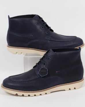 Kickers Kymbo Moccasins Dark Blue
