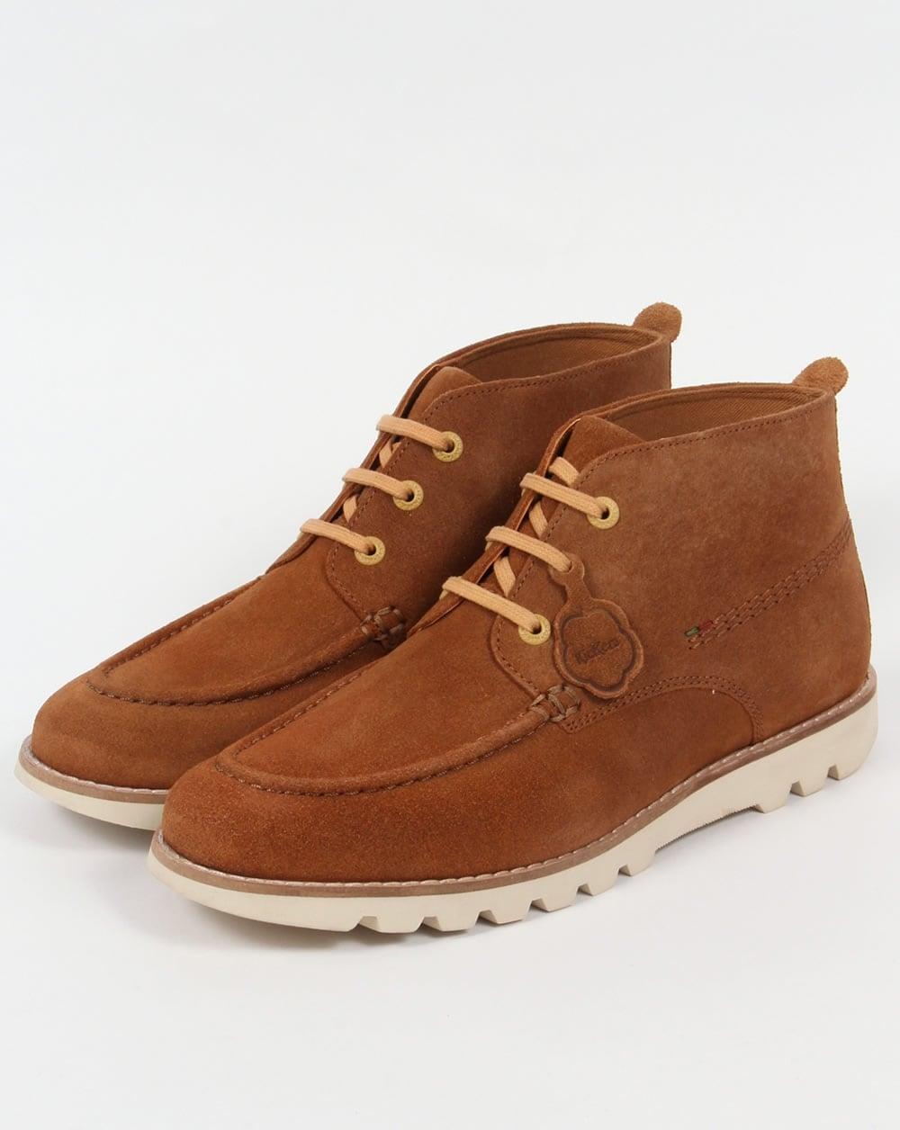 Kickers Kymbo Moccasins Suede Light Brown,boots,shoe,mens