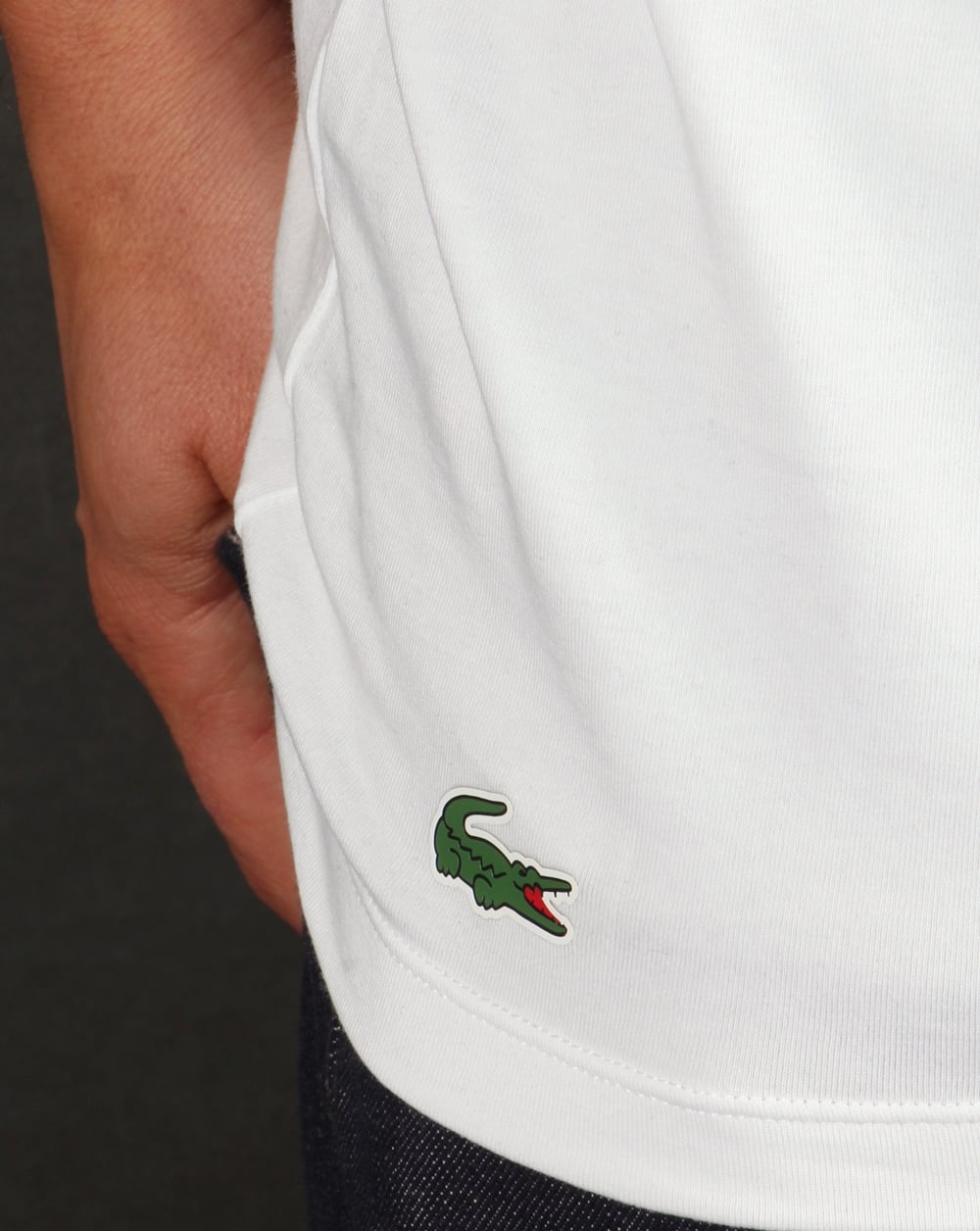 8689ee43 Lacoste Twin Pack T Shirts, white, loungewear | 80s casual classics