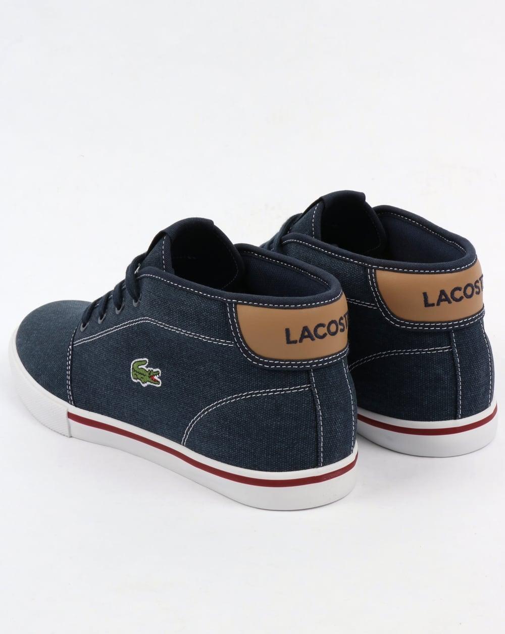 Lacoste Ampthill Chukka Navy/Tan,boots