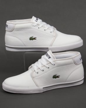 Lacoste Footwear Lacoste Ampthill Leather Trainers White/White