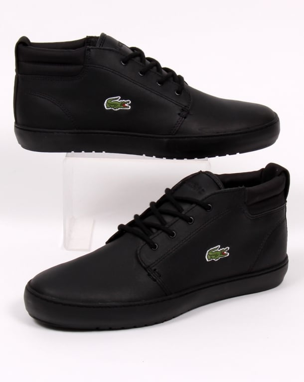 Lacoste Ampthill Terra Boots Black Leather