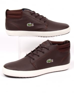 Lacoste Footwear Lacoste Ampthill Terra Boots Brown Leather