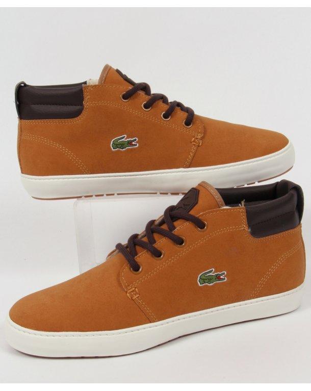 Lacoste Ampthill Terra Boots Dark Tan