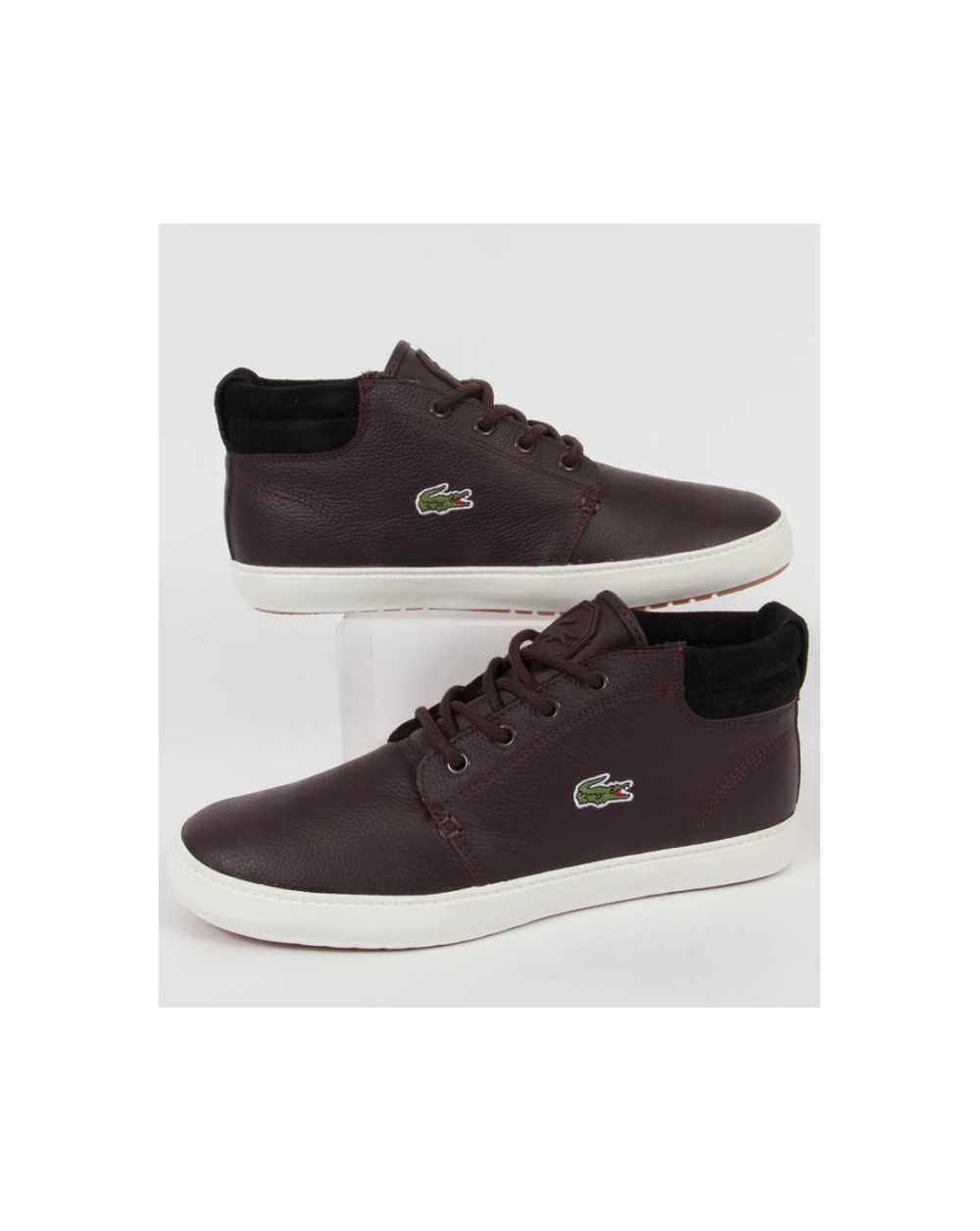 lacoste thill terra boots brown lacoste thill terra