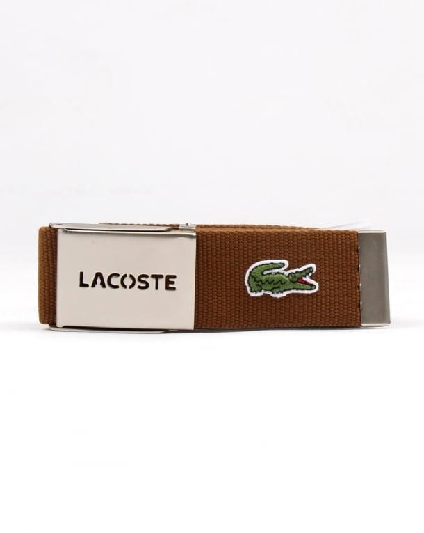 Lacoste Belt Gift Box Dark Brown
