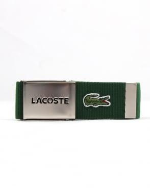 Lacoste Belt Gift Box Green