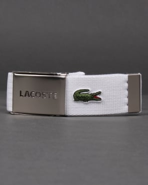 Lacoste Belt Gift Box White
