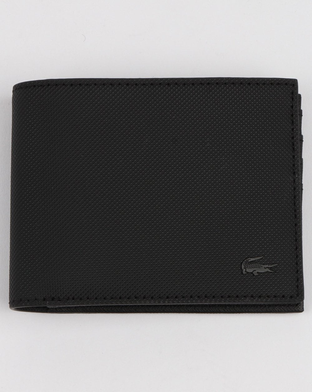 dd4119fb0c0 Lacoste Lacoste Billfold Leather Wallet Black
