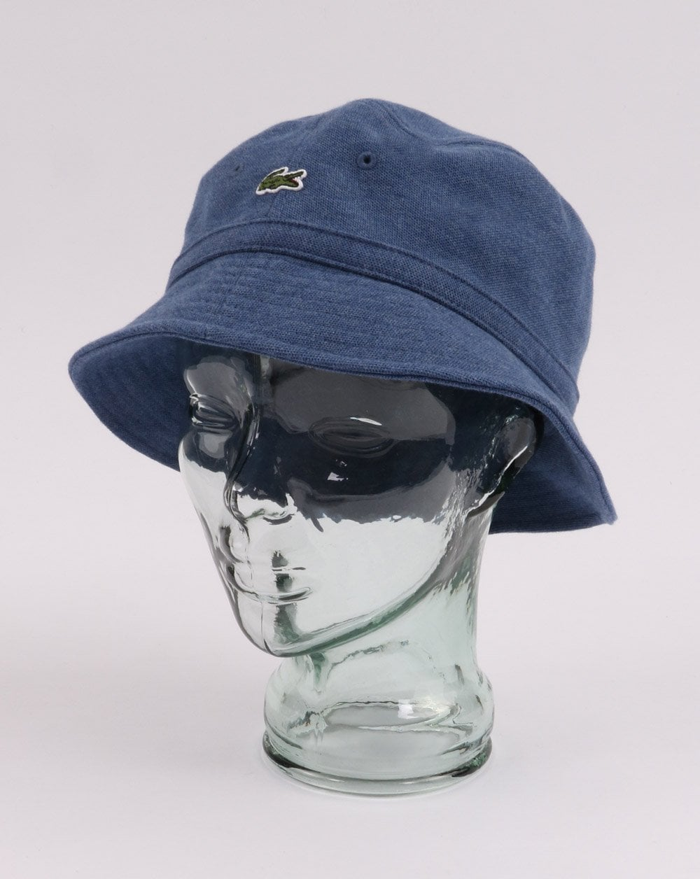 cf1f4bc2a9a Lacoste Lacoste Bucket Hat Blue Marl