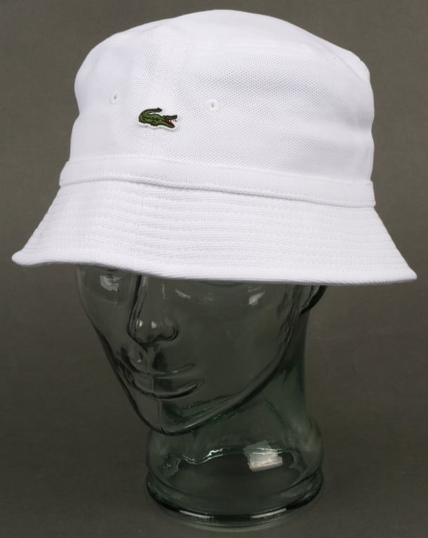 e0599fdbb ... purchase lacoste bucket hat white reni fisherman sport cotton jpg  610x766 lacoste bucket hat white pictures
