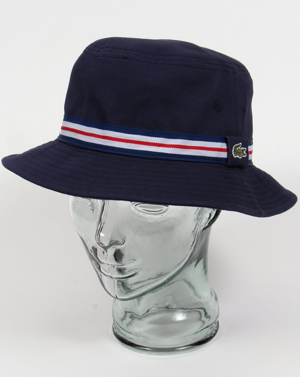 278ba6fe Lacoste Bucket Sun Hat Navy with trim