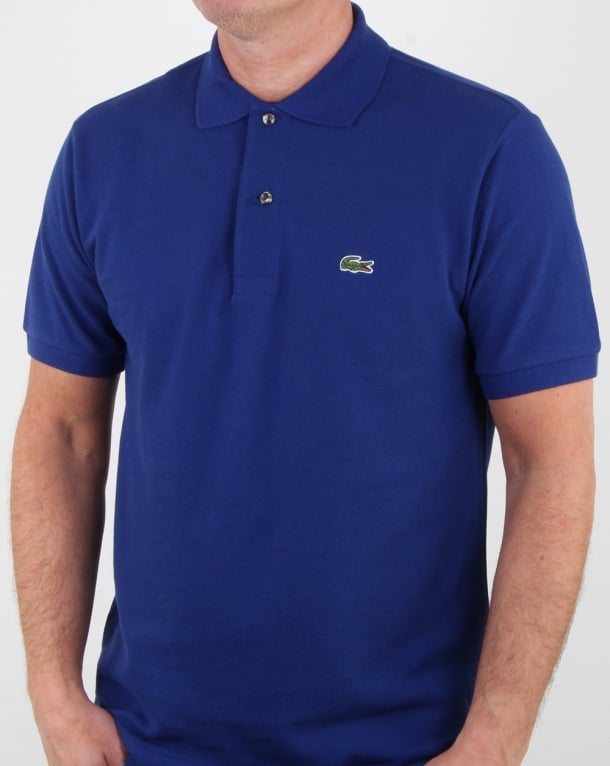 Lacoste Classic Two Button Polo Shirt Ocean