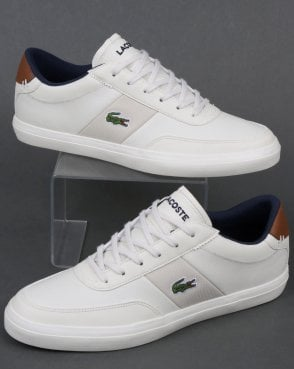 Lacoste Court Master 318 Trainer Off White/Navy