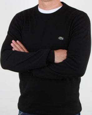 Lacoste Crew Neck Jumper Black