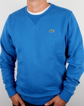 Lacoste Crew Neck Sweatshirt Ink Blue