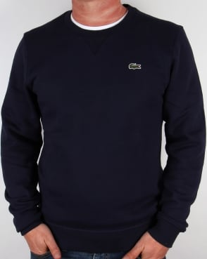 Lacoste Crew Neck Sweatshirt Navy