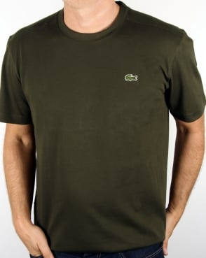 Lacoste Crew Neck T-shirt khaki Green