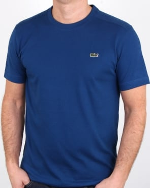Lacoste Crew Neck T-shirt Marino
