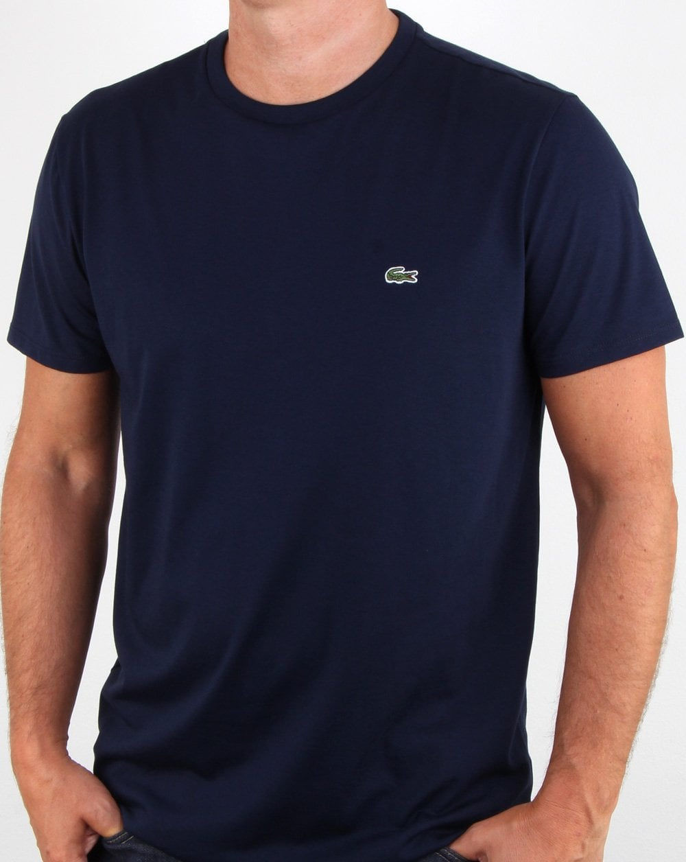 682400afcb29 Lacoste T-shirt Navy, lacoste, tee, casual,