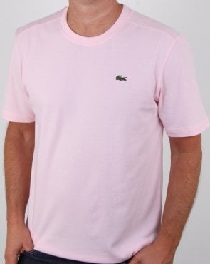 Lacoste Crew Neck T-shirt Pink