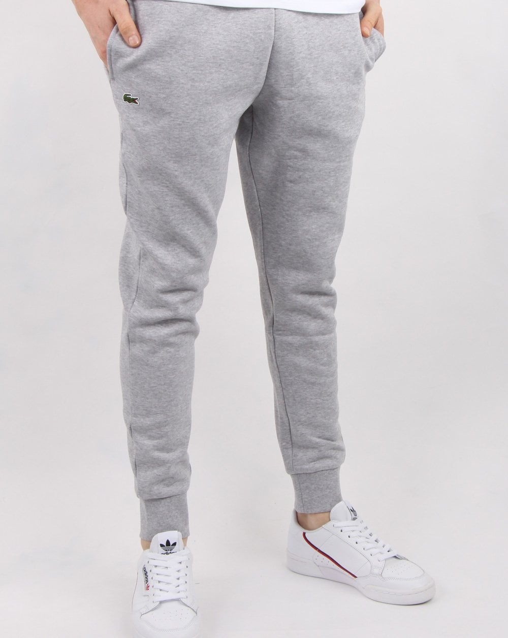 285462ba Lacoste Track Pants in Grey | 80s Casual Classics