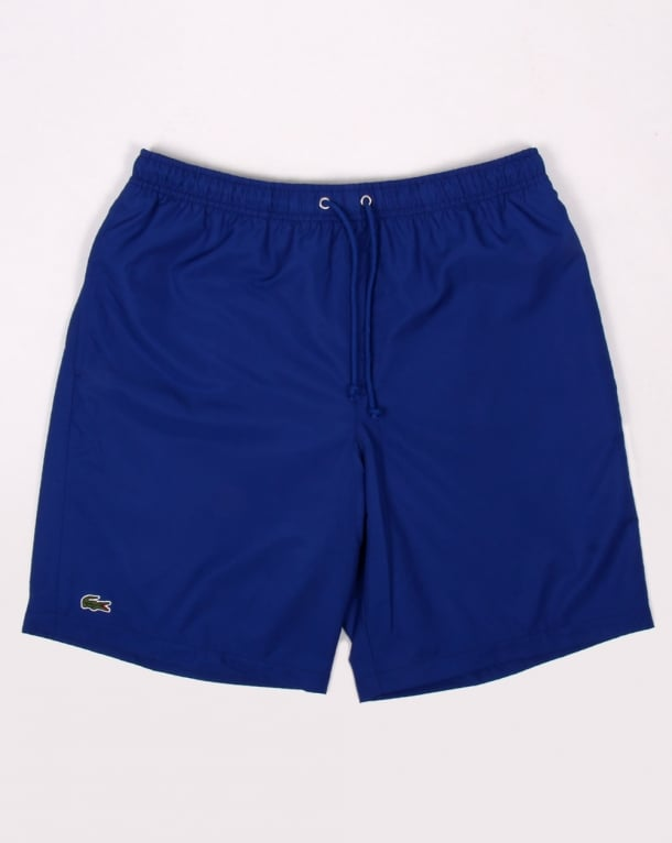 Lacoste Diamond Drawstring Shorts French Blue